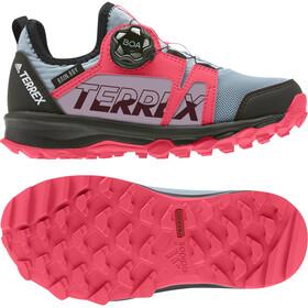 adidas TERREX Agravic Boa Rain.RDY Vandresko Børn, ash grey/footwear white/shock red